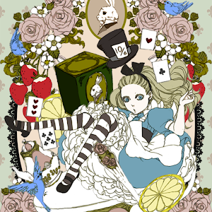 Live Wallpaper Alice's Tea