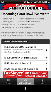 Gator Bowl - screenshot thumbnail