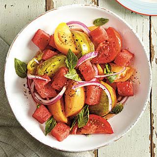 Tomato-and-Watermelon Salad