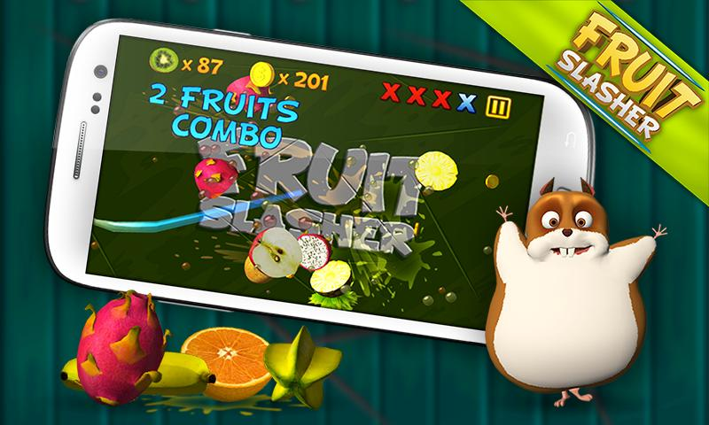 Fruit Slasher 3D- screenshot