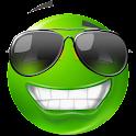 Текст смайлики ™ Green icon