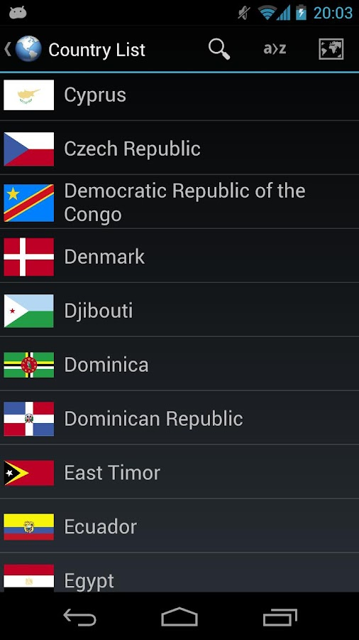 GeoTrain - Flags & Capitals - screenshot