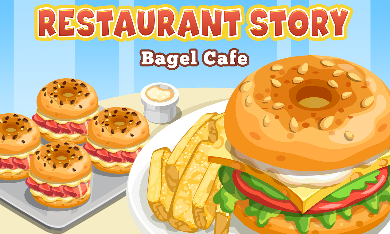 Storm8 Id Home Design Story Restaurant Story Bagel Cafe Android Apps On Google Play