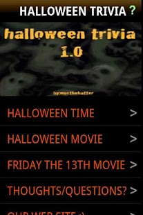 halloween trivia - Android Apps on Google Play