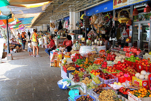 Fruit stall in Phnom Penh Central Market by Leong Jeam Wong - City,  Street & Park  Markets & Shops