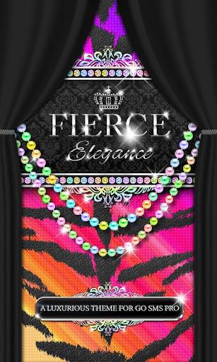 Luxury Theme Rainbow Tiger SMS