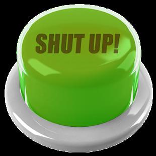 0 Shut Up Button App screenshot