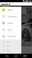 Screenshot of Dotz Wheels Configurator