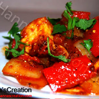 Paneer Chilly.