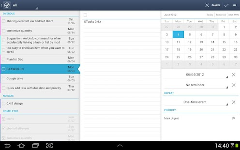 GTasks: Todo List & Task List Screenshot 8