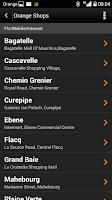 Screenshot of My Orange Mauritius