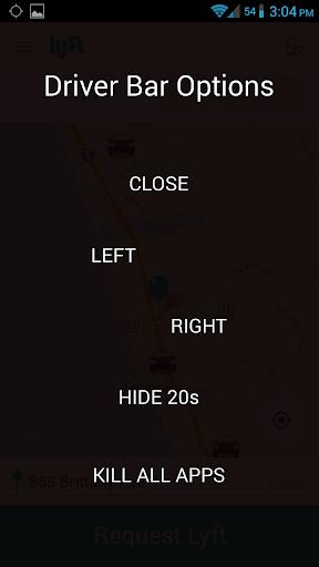 【免費生產應用App】Driver Bar (Uber Lyft Sidecar)-APP點子
