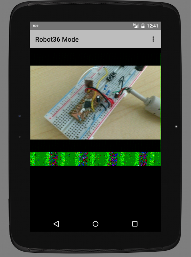 Robot36 - SSTV Image Decoder- screenshot