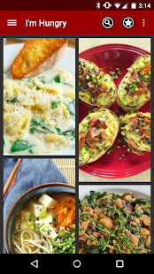 I'm Hungry: Vegetarian Recipes- screenshot thumbnail