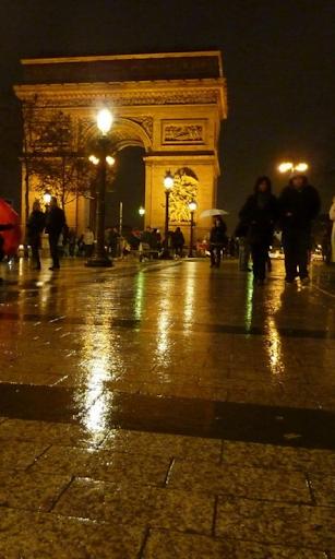 Rainy Paris HD LWP