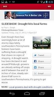 The Pittsburgh Business Times- screenshot thumbnail