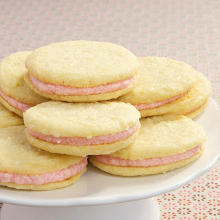 Strawberry-Lemon Sandwich Cookies