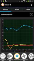 Screenshot of Sense-it (sensors)