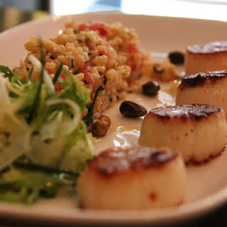 LULU'S PAN-ROASTED SEA SCALLOPS FROM CHEF KAREN'S KITCHEN