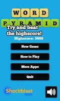 Screenshot of Word Pyramid