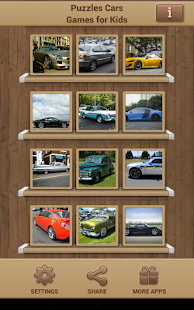 Puzzles Cars Games for Kids Screenshot 10