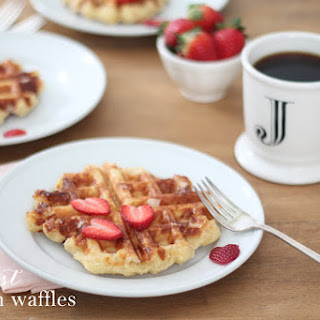The Best Belgian Waffles