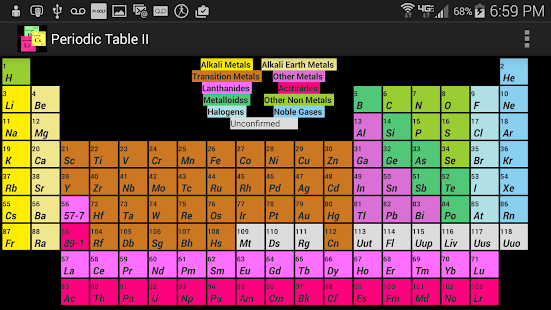 Periodic table 2015 android apps on google play periodic table 2015 screenshot thumbnail urtaz Gallery