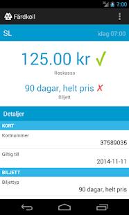 Färdkoll (SL) - screenshot thumbnail