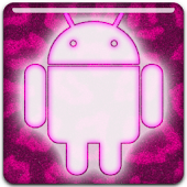 GO Keyboard - Pink Fur