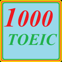 1000 TOEIC test; LC and RC icon
