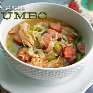 Chicken & Sausage Gumbo.