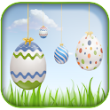 Easter Live Eggs Wallpaper logo