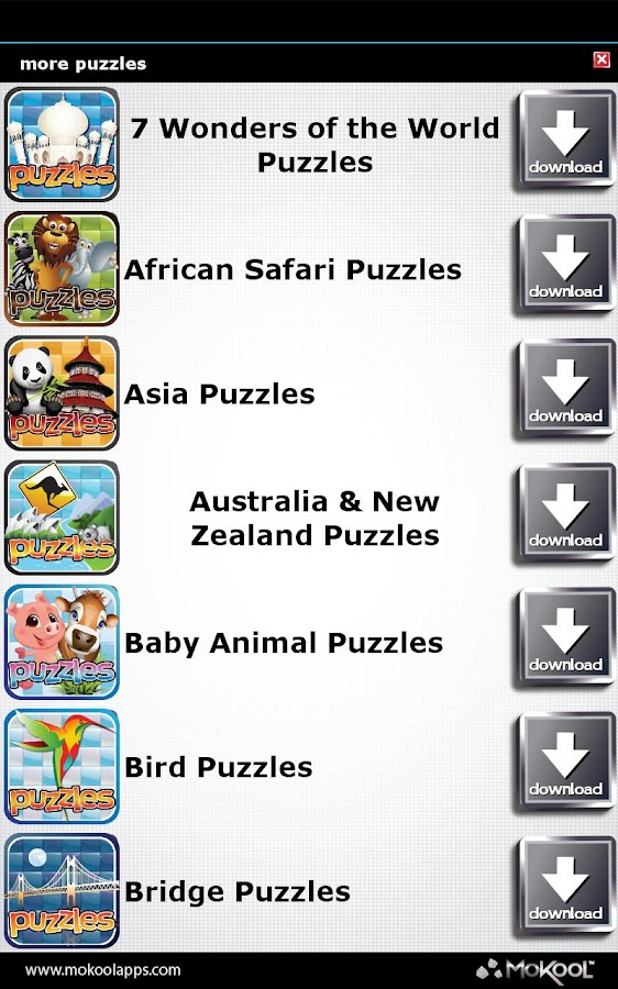 Animal Puzzles 25+ FREE Puzzle- screenshot