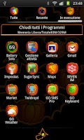 Screenshot of Halloween Theme GO Launcher EX