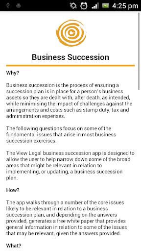 玩商業App|View Legal Business Succession免費|APP試玩