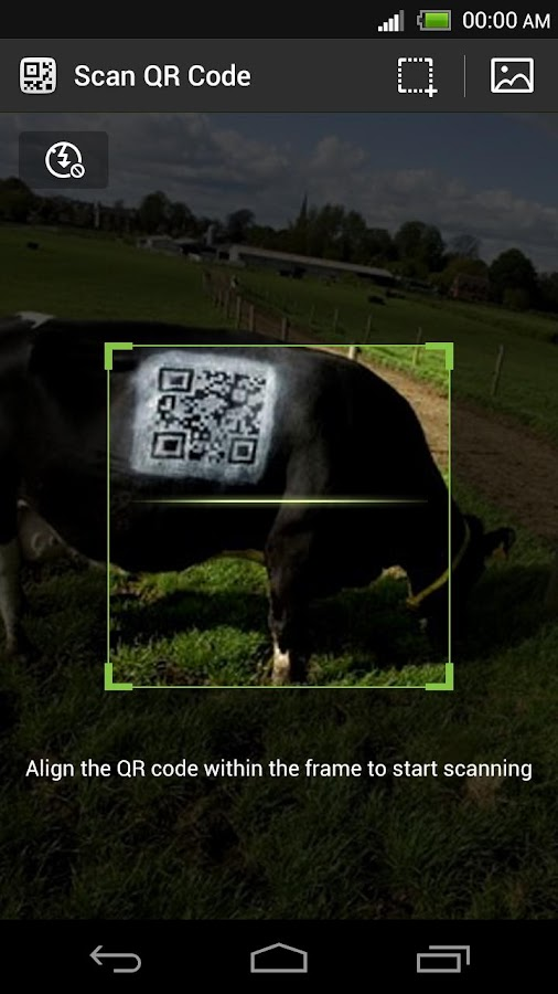 QR code for Next Browser - screenshot