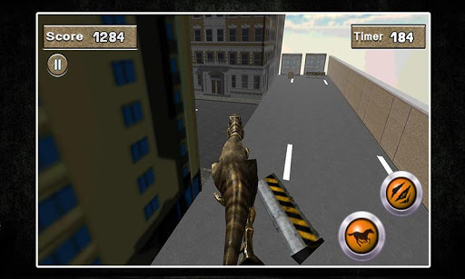 3D愤怒的迪诺模拟器