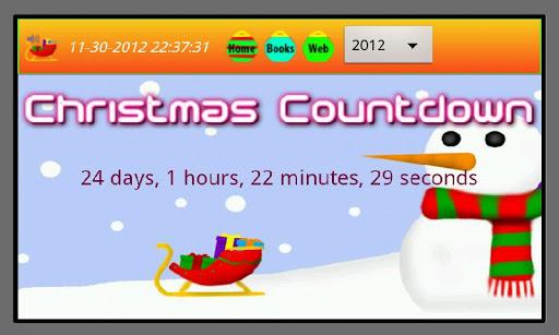 2013 Christmas Countdown