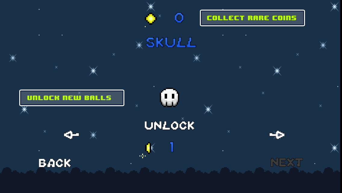Retro Bouncing Ball- screenshot