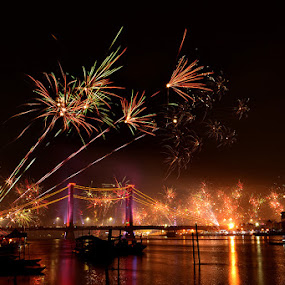 Ampera brige 2014 by Sandi Nopri yanto - Public Holidays New Year's Eve