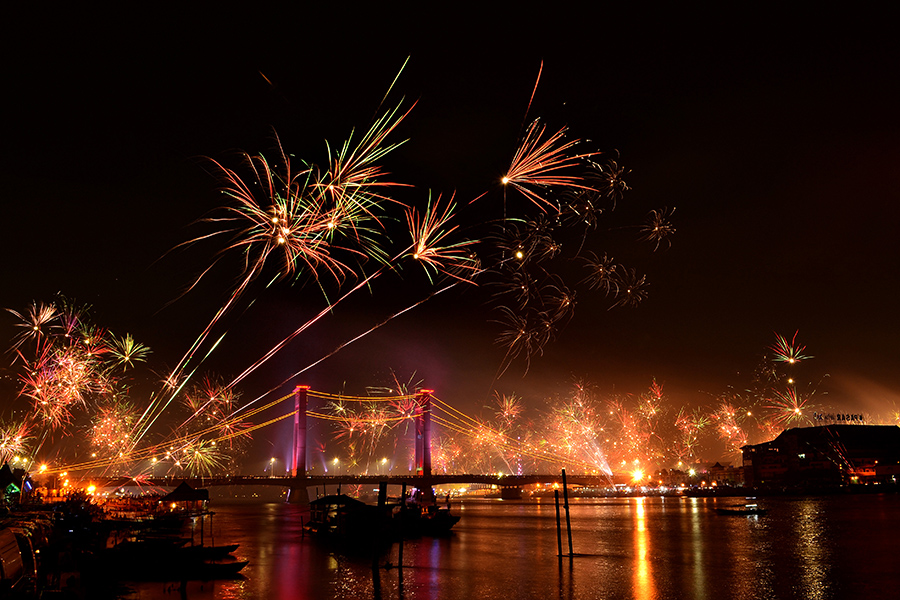 Ampera brige 2014 by Sandi Nopri yanto - Public Holidays New Year's Eve