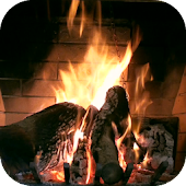 Fireplace HD Live Wallpaper