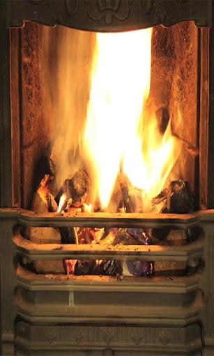 Fireplace live wallpaper