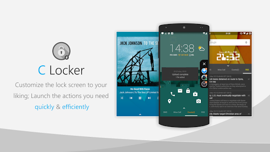C Locker Free (Widget Locker)- screenshot thumbnail