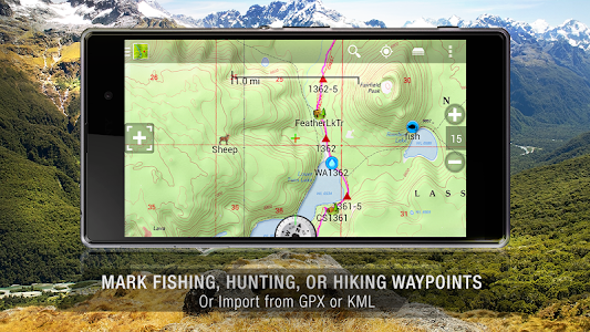 BackCountry Navigator TOPO GPS v5.4.8
