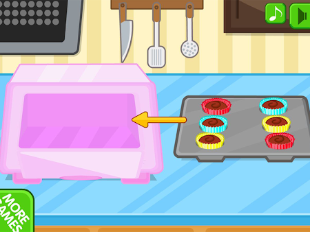 Chocolate cupcake maker 1.0.8 screenshot 560510