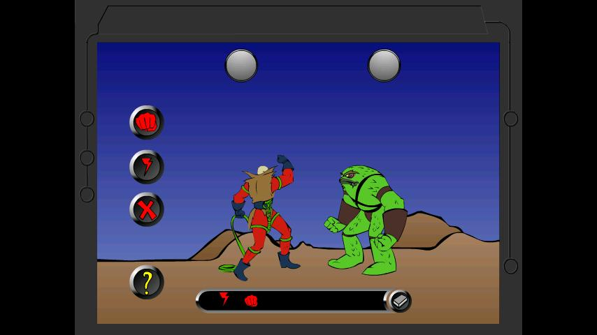 Fight With Alien - screenshot