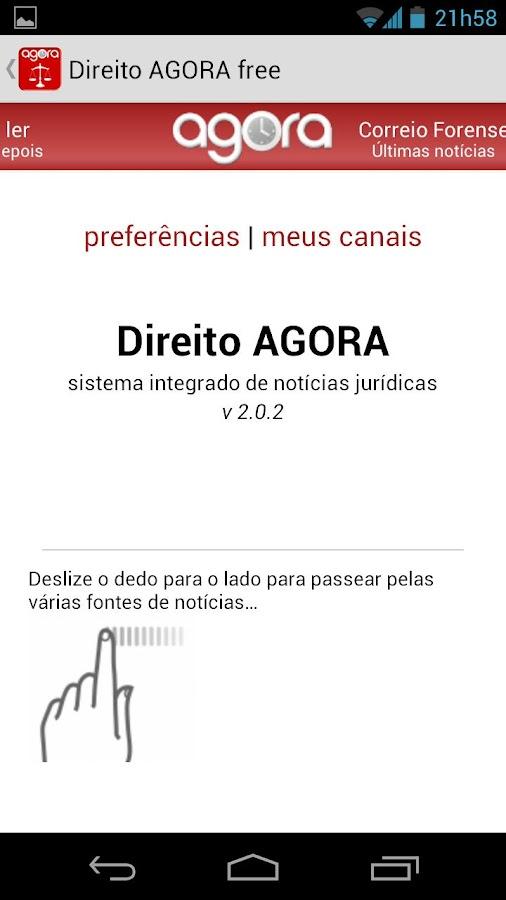 Direito AGORA Notícias (pro) - screenshot
