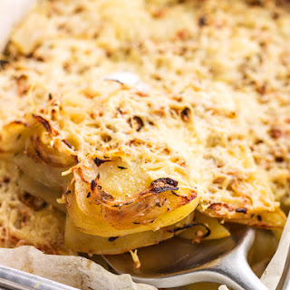 Onion Baked Potato Casserole