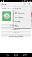 Screenshot of Aurora Public Library